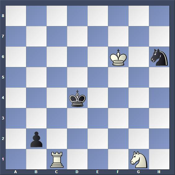 Schach Studie Bazlov