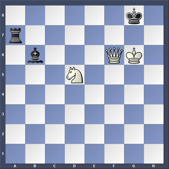 Schach Schachproblem Hoeg