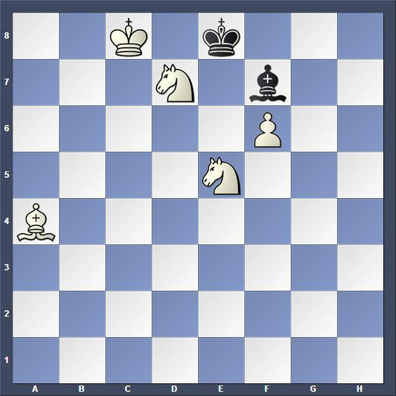 Schach Schachproblem Mandler