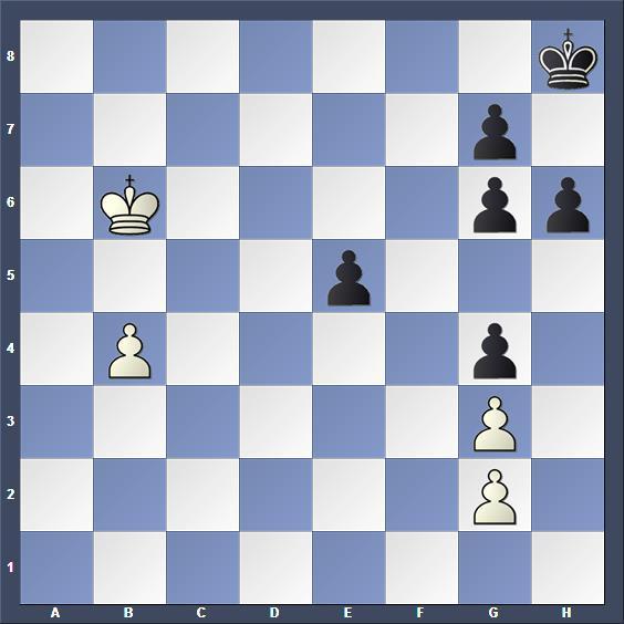 Schach Studie Evreinov