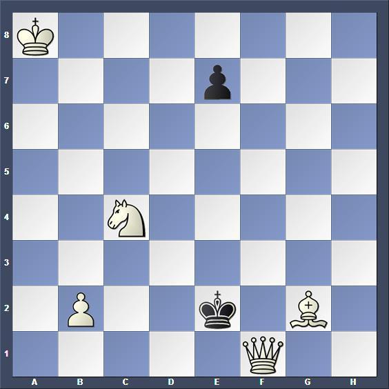 Schach Schachproblem Brunner
