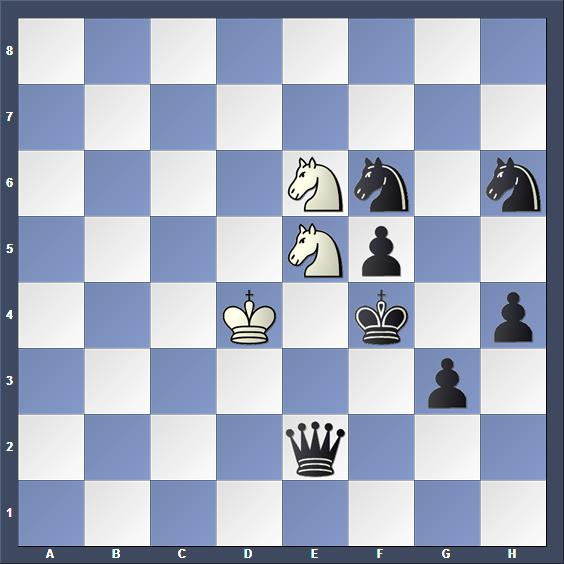 Schach Studie Bent