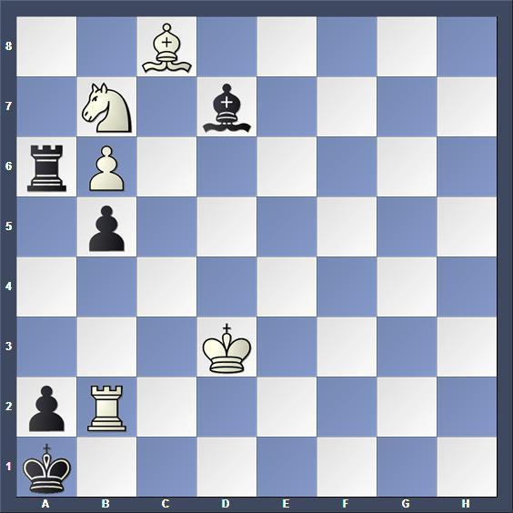 Schach Studie Sonntag