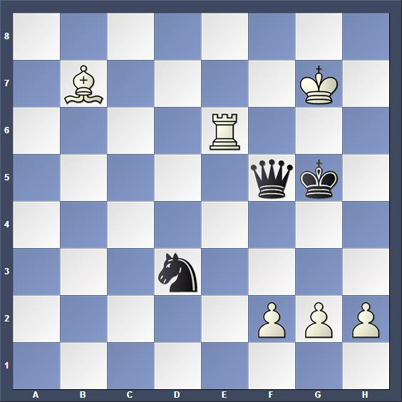 Schach Studie Liburkin 1948