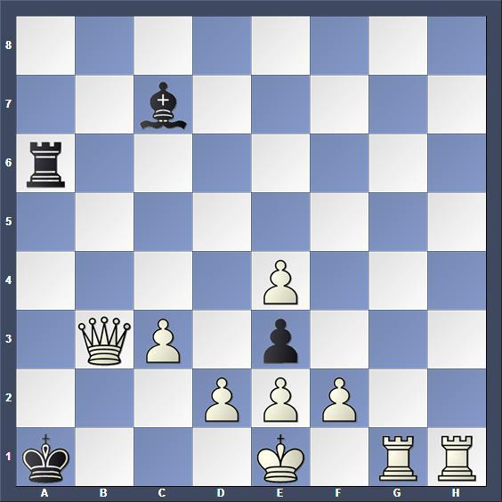 Schach Schachproblem Krätschmer