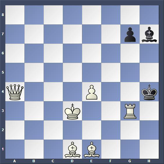 Schach Schachproblem Bruch