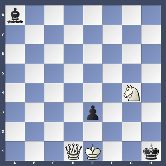 Schach Schachproblem Palkoska