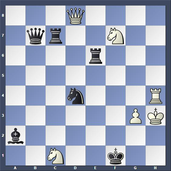 Schach Studie Lewandowski