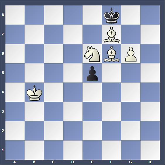 Schach Schachproblem Bell