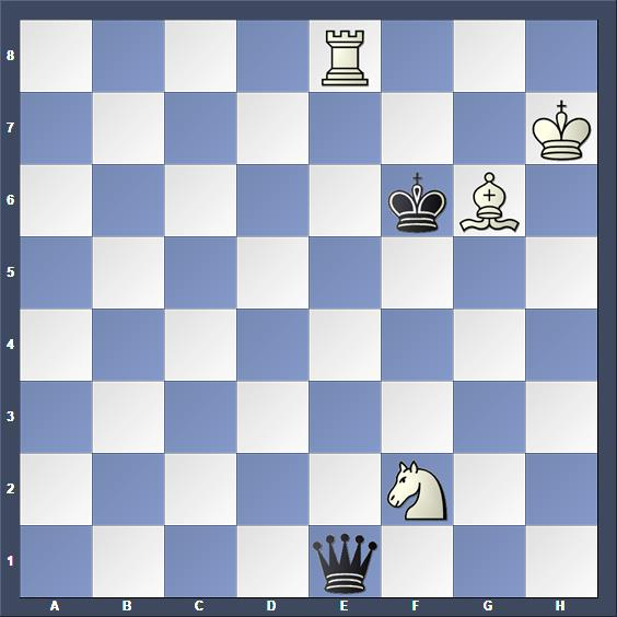 Schach Studie Pogosjanz