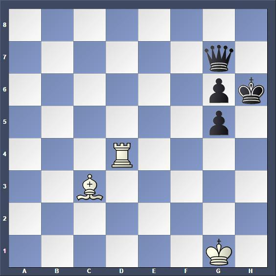 Schach Studie Kricheli
