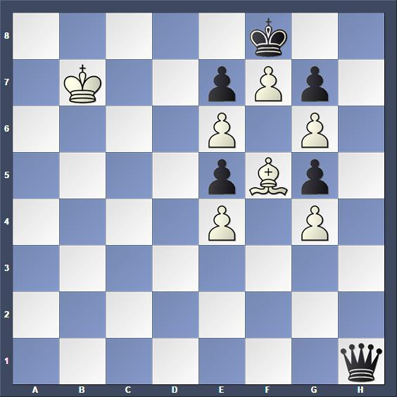 Schach Studie Blathy