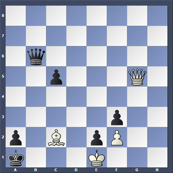 Schach Studie Apschenek