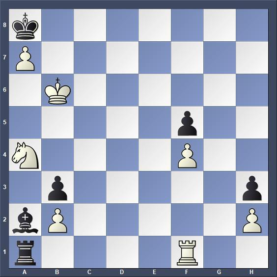 Schach Schachproblem Hagemann