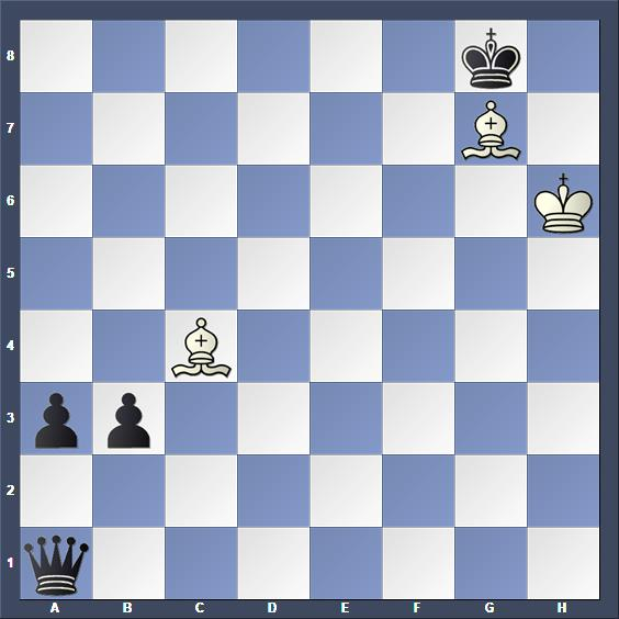 Schach Studie Kasparjan