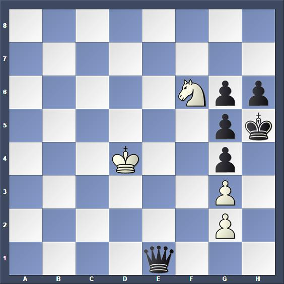 Schach Studie Caillaud