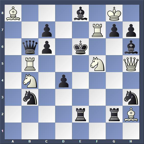 Schach Schachproblem Westbury