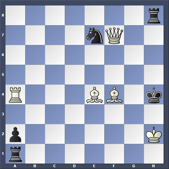Schach Schachproblem Carpenter