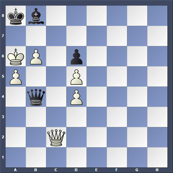Schach Studie Massinen