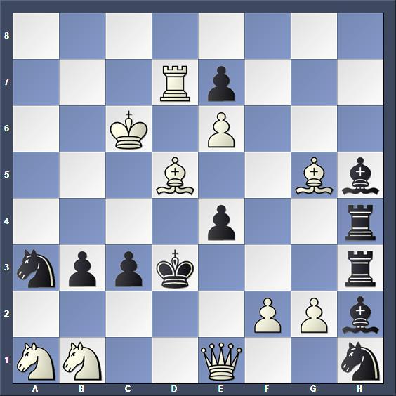 Schach Schachproblem Mansfield
