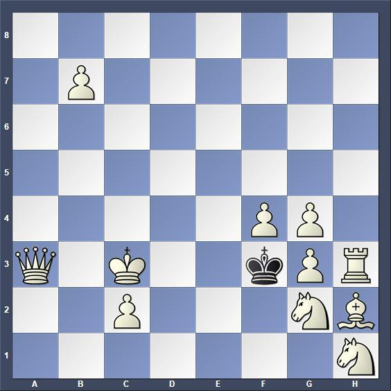 Schach Schachproblem Hartong