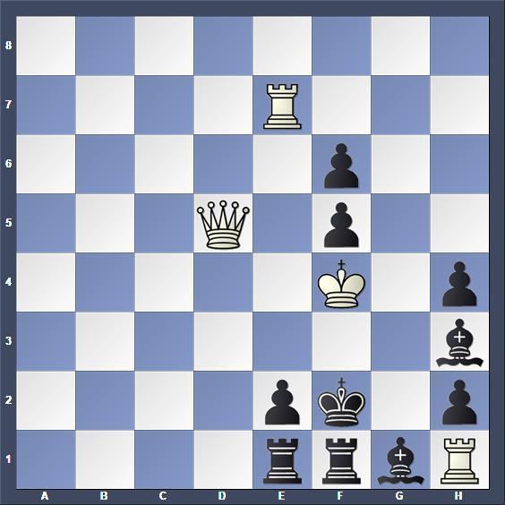 Schach Schachproblem Chivu