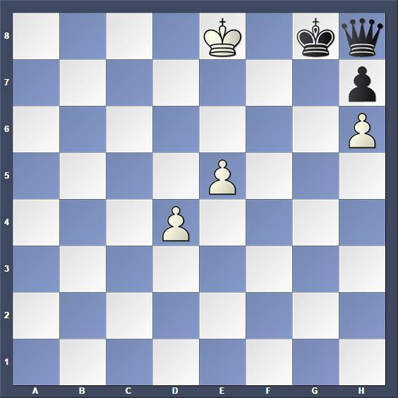 Schach Studie Guljajew
