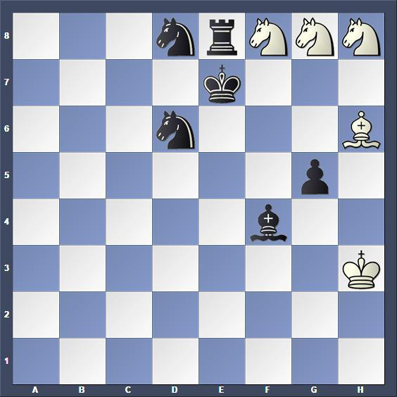 Schach Schachproblem Telkes