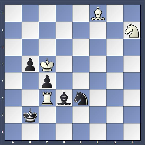 Schach Studie Roycroft