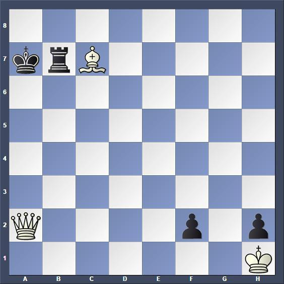 Schach Schachproblem Herberg