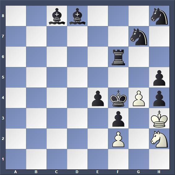 Schach Schachproblem Ternblad