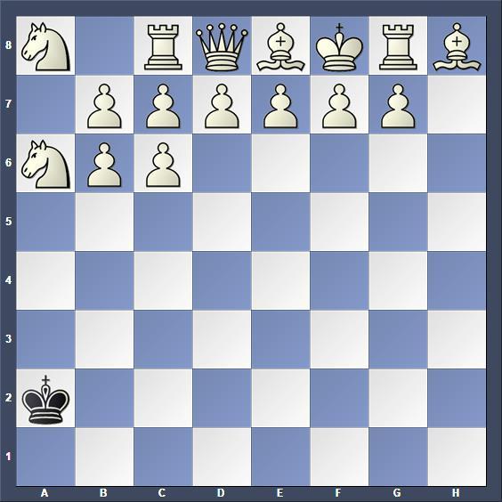 Schach Schachproblem Karpati