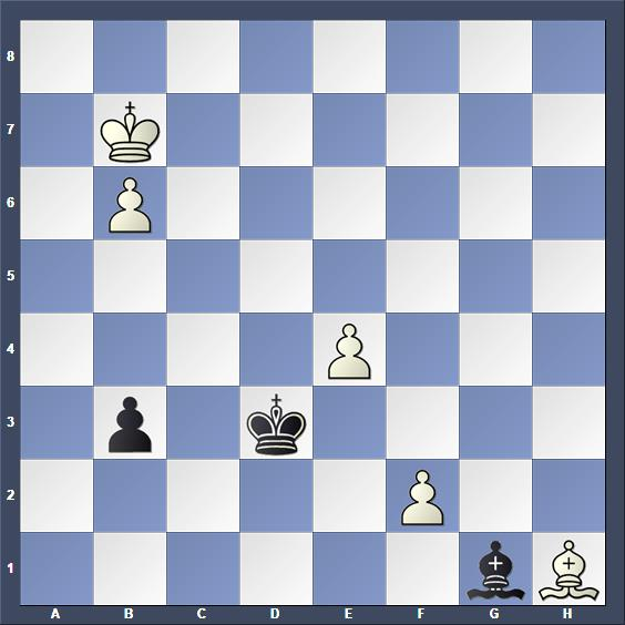 Schach Studie Herbstman