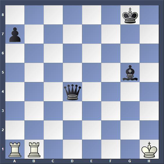 Schach Schachproblem Doré