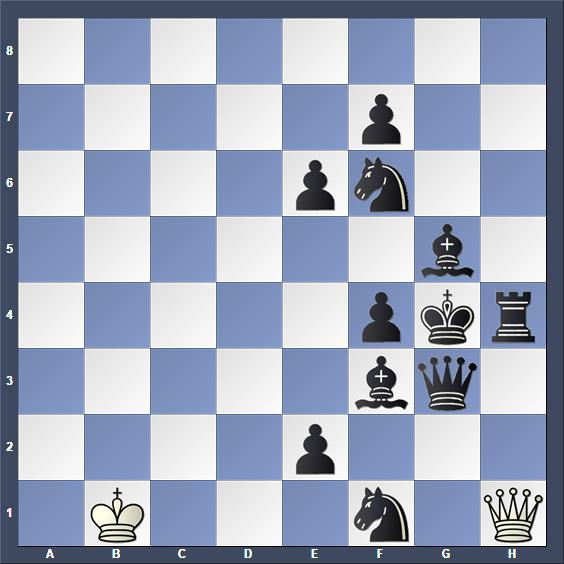 Schach Schachproblem Gelpernas