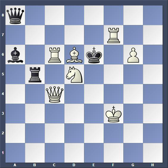 Schach Schachproblem Hynönen