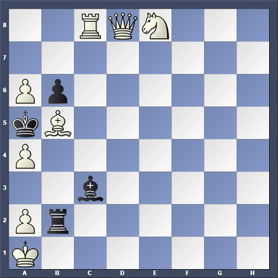 Schach Studie Gurgenidze