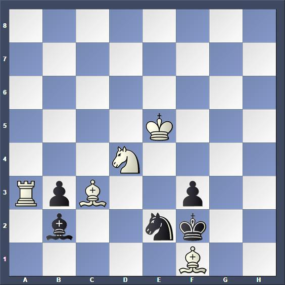 Schach Schachproblem Mentasti