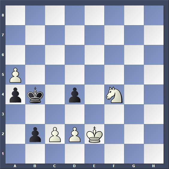 Schach Studie Lazar