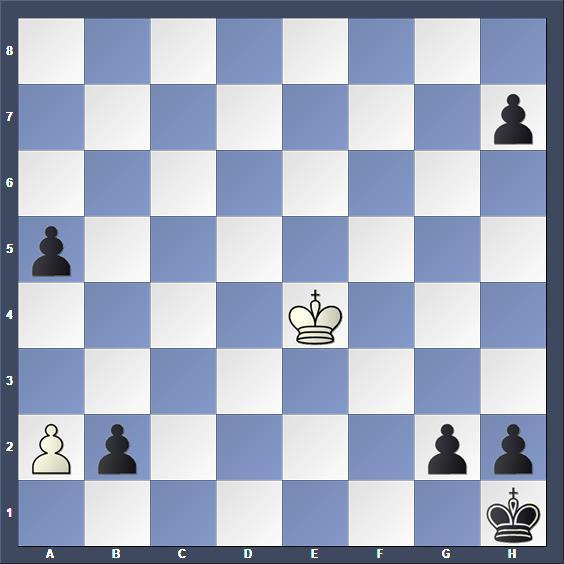Schach Schachproblem Kniest