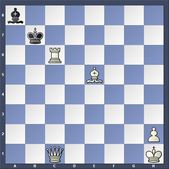 Schach Schachproblem Herland