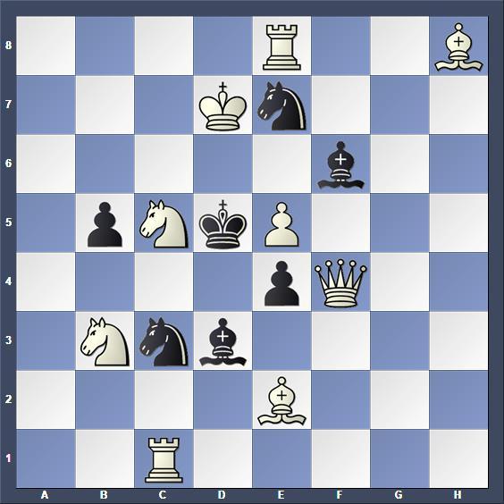 Schach Schachproblem Bosetti