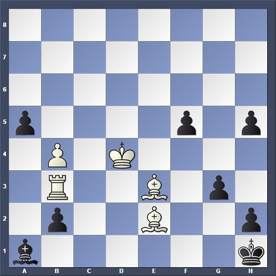 Schach Studie Razumenko