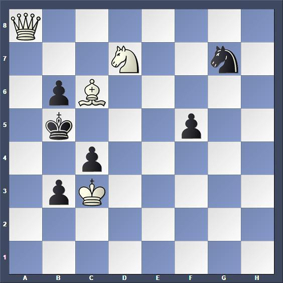 Schach Schachproblem Curth
