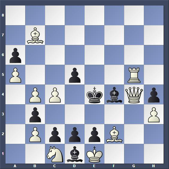 Schach Selbstmatt Brown