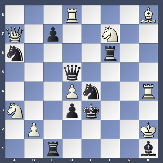 Schach Schachproblem Haymann