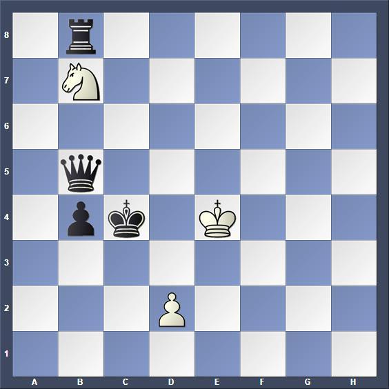 Schach Schachproblem Lundström