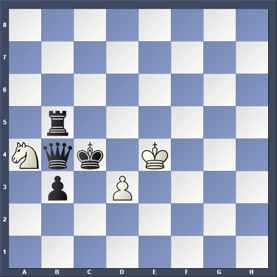 Schach Hilfsmatt Lundström