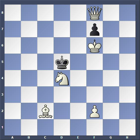 Schach Schachproblem Baja