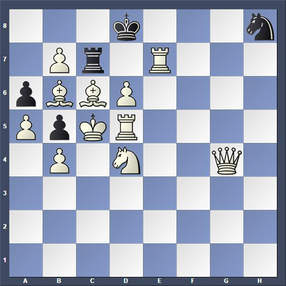 Schach Schachproblem Molnar